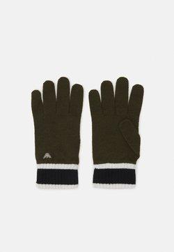 Emporio Armani - UNISEX - Fingerhandschuh - khaki