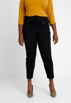 Evans - BENGALINE TROUSER - Spodnie materiałowe - black