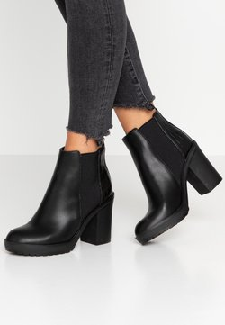 ONLY SHOES - ONLBOO LOOP - Enkellaarsjes met hoge hak - black