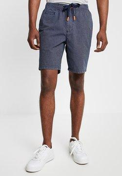 Superdry - SUNSCORCHED - Shorts - dark blue/white