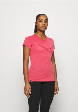 Salewa - SOLID TEE - T-Shirt print - virtual pink melange