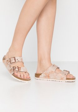 Birkenstock - ARIZONA - Tofflor & inneskor - vintage metallic rose copper