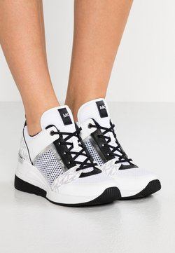 MICHAEL Michael Kors - GEORGIE TRAINER - Sneakers - bright white/metallic