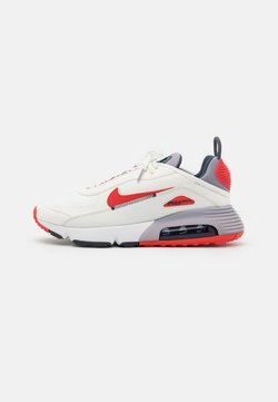 Nike Sportswear - AIR MAX 2090 - Sneakers laag - summit white/chile red/cement grey/thunder blue/white