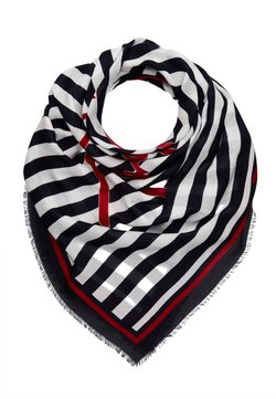 Tommy Hilfiger - SIGNATURE SQUARE - Foulard - dark blue/white/red