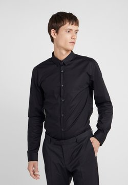 HUGO - ERO EXTRA SLIM FIT - Koszula biznesowa - black