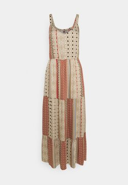 Culture - MOURITZA DRESS - Maxikleid - elmwood