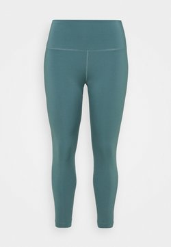Nike Performance - THE YOGA 7/8 PLUS - Tights - hasta/dark teal green