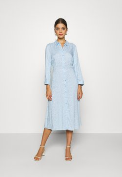 YAS - JANICE - Sukienka koszulowa - cool blue