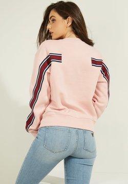 Guess - LOGO LETTERING - Sweatshirt - rose
