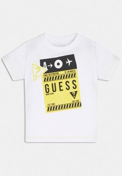 Guess - LOGO  - T-shirt print - wit