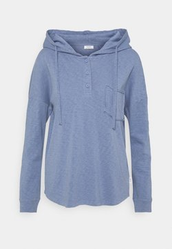 Marc O'Polo DENIM - LONG SLEEVE HOODY BUTTON PLACKET - Huppari - soft heaven