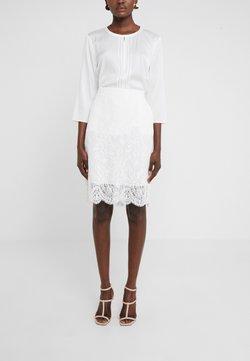 HUGO - RIAMI - Pencil skirt - natural