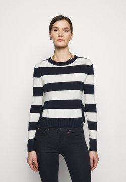 MAX&Co. - CRESCITA - Strickpullover - navy blue pattern