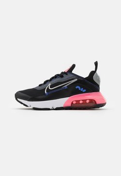 Nike Sportswear - AIR MAX 2090 - Sneakersy niskie - black/metallic silver/sunset pulse
