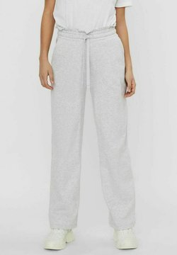 Vero Moda - VMNOA PANTS - Jogginghose - light grey melange