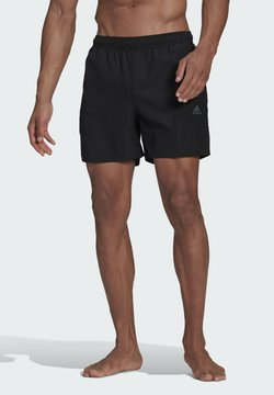 adidas Performance - BOS3S CLASSICS SL MUST HAVES PRIMEGREEN SWIM SPORTS REGULAR SHORTS - Szorty kąpielowe - black