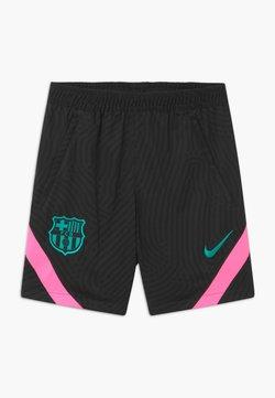 Nike Performance - FC BARCELONA UNISEX - Pantalón corto de deporte - black/pink beam/new green