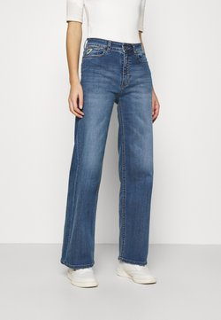 LOIS Jeans - PALAZZO - Flared Jeans - dark stone
