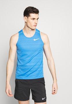 Nike Performance - DRY MILER TANK - Camiseta de deporte - pacific blue