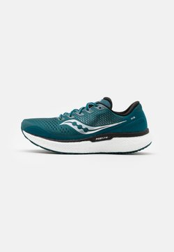 Saucony - TRIUMPH 18 - Zapatillas de running neutras - deep teal/silver