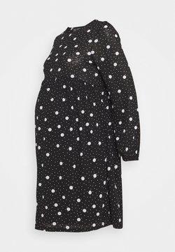 New Look Maternity - TIERED SMOCK DRESS - Robe en jersey - black