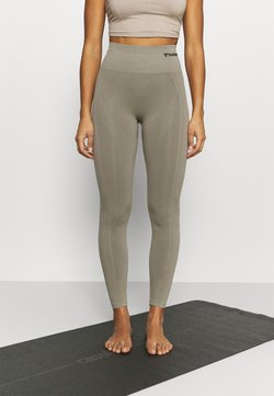 Hummel - SEAMLESS HIGH WAIST  - Tights - vetiver