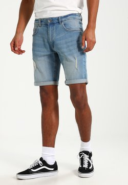 Redefined Rebel - OSLO DESTROY  - Szorty jeansowe - skyway blue