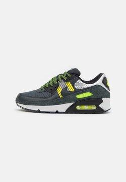 Nike Sportswear - AIR MAX 90 3M UNISEX - Sneakersy niskie - anthracite/volt/black/photon dust