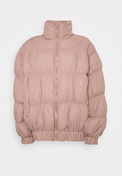 Missguided Tall - STATEMENT RUCHED PUFFER - Winterjacke - rose
