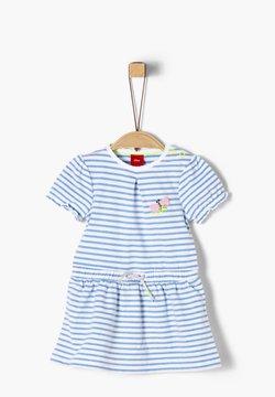 s.Oliver - Jerseykleid - blue stripes