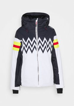 CMP - WOMAN JACKET FIX HOOD - Kurtka narciarska - bianco