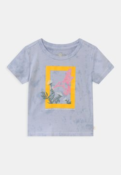 GAP - TODDLER GIRL NATIONAL GEOGRAPHIC - T-shirt print - blue