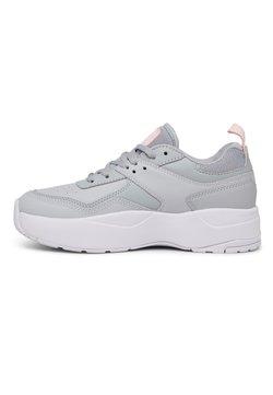 DC Shoes - E.TRIBEKA  - Sneaker low - grey/grey/white