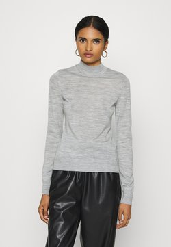Vero Moda - JOY - Sweter - light grey melange