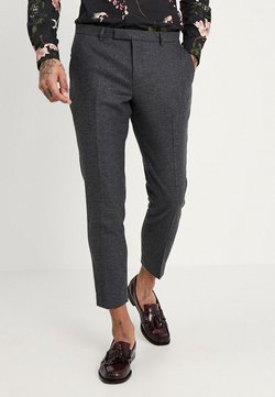 Twisted Tailor - MOONLIGHT TROUSERS - Puvunhousut - charcoal