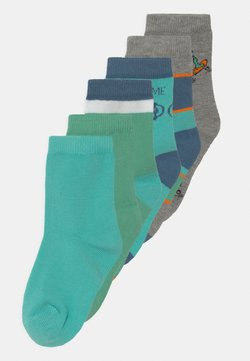 Name it - NKMBUBBER 6 PACK - Calcetines - green spruce