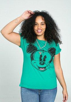 Paprika - MICKY MAUS - T-shirt print - green garden