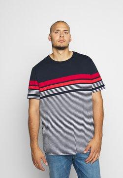 Jack & Jones - JCOBLUE TEE CREW NECK - T-shirt imprimé - sky captain
