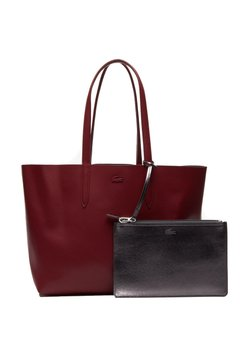 Lacoste - ANNA  - Shopping Bag - andalusian red / navy blue