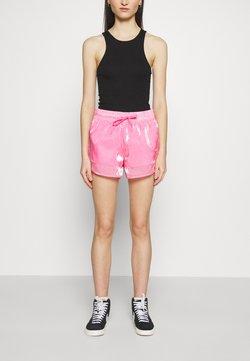 Nike Sportswear - AIR SHEEN - Shorts - pink glow/black