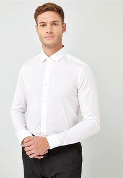 Next - WHITE SKINNY FIT SINGLE CUFF COTTON SHIRT - Businesshemd - white