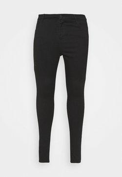 Levi's® Plus - HIRISE SUPER - Jeans Skinny Fit - black galaxy