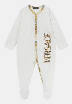 Versace - BAROCCO FLAGE LOGO UNISEX - Strampler - bianco/oro