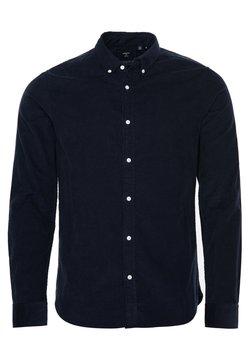 Superdry - CLASSIC CORDUROY  - Shirt - navy