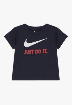 Nike Sportswear - TEE BABY - T-shirt print - obsidian