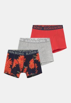 Björn Borg - OVERIZIED FLOWER SAMMY 3 PACK - Panties - night sky