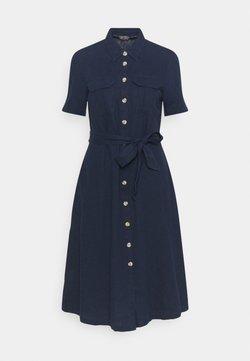 Marks & Spencer London - MIDI SHIRT DRESS - Sukienka letnia - dark blue