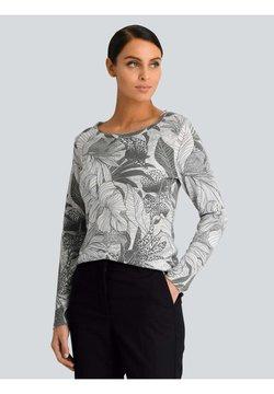 Alba Moda - Strickpullover - grau,schwarz,weiß