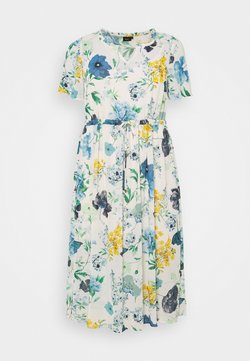 Zizzi - MLAURA MIDI DRESS - Freizeitkleid - multi-coloured